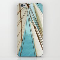 Catch The Wind iPhone & iPod Skin