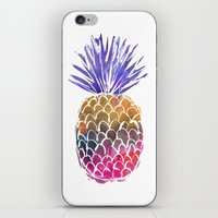 GoodVibes Pineapple iPhone & iPod Skin