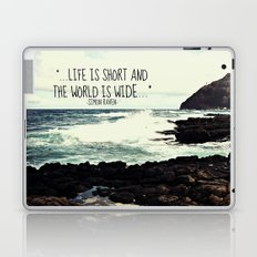 LIFE IS SHORT  Laptop & iPad Skin