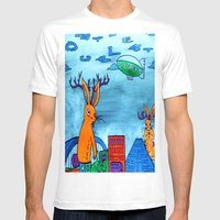 No Hope Jackalope Full Mens Fitted Tee White SMALL