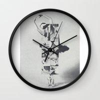 Diamond Dancer Wall Clock