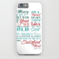Satisfied Mind iPhone 6 Slim Case