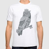 Owl King Mens Fitted Tee Ash Grey SMALL