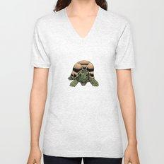 Happy Tortoise Unisex V-Neck