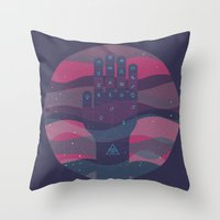 HEY BABY, WHAT'S YOUR SIGN, I'M A GEMINI Throw Pillow