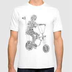 A boy's thing Mens Fitted Tee White SMALL