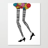 Skinny Legs 2 - Art Prin… Canvas Print