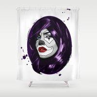 Clown Girl Shower Curtain