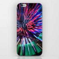 Night Light 144 - Wheel iPhone & iPod Skin