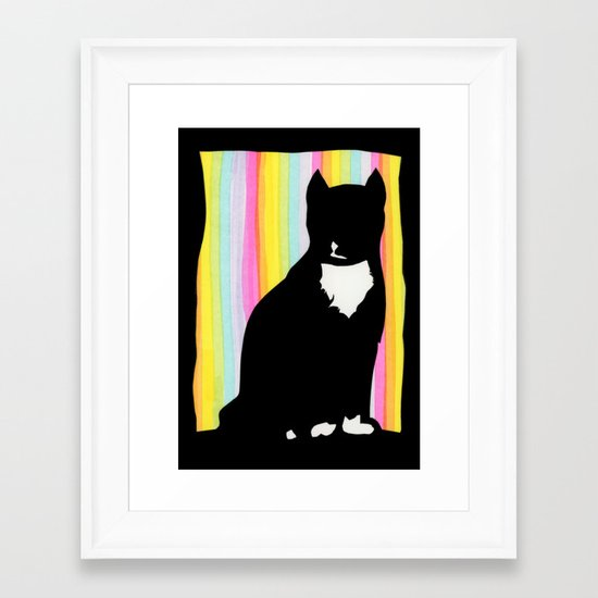 Max The Cat Framed Art Print