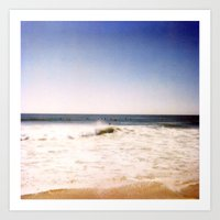 New York Summer at the Beach #2 Art Print