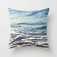 Water Throw Pillow