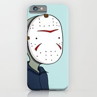 Adventure Time with Jason Voorhees iPhone 6 Slim Case