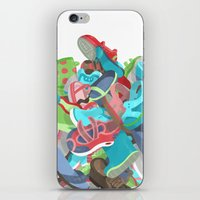 Tons of Shoes iPhone & iPod Skin