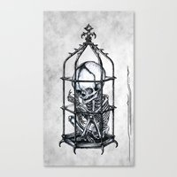 Fetus Cage Canvas Print