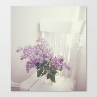 For The Love Of Violet Canvas Print