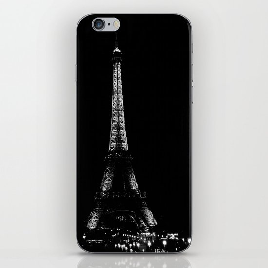 Paris by night iPhone & iPod Skin