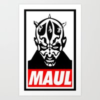 Obey Darth Maul (maul Te… Art Print