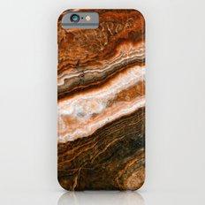 Onyx Marble Slim Case iPhone 6s