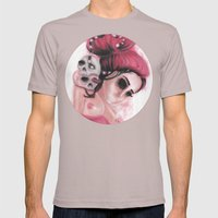 Red Coloured Dreams Mens Fitted Tee Cinder SMALL