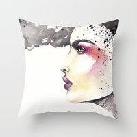 The Vision Throw Pillow