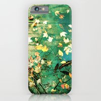 iPhone & iPod Case featuring Turning a New Leaf by Suzanne Kurilla