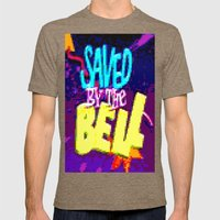 Saved By The Bell Mens Fitted Tee Tri-Coffee SMALL