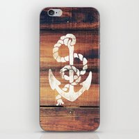 Vintage Nautical Anchor … iPhone & iPod Skin
