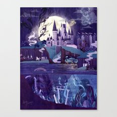 Never a Quiet Year at Hogwarts Canvas Print