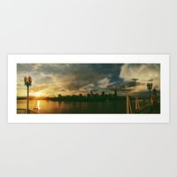 Cincinnati Sunset Skylin… Art Print