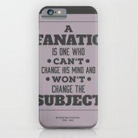iPhone & iPod Case featuring Fanatic by NeilRobertLeonard
