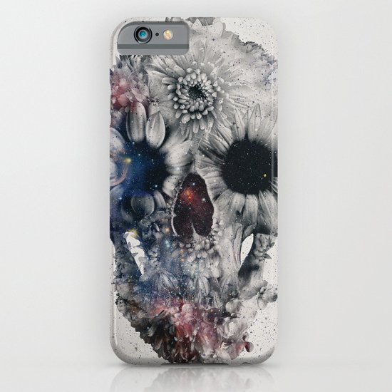 Floral Skull 2 iPhone & iPod Case