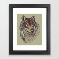 Wolfen Framed Art Print
