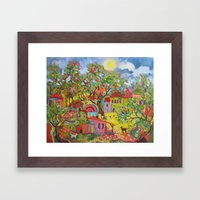 After Everyone's Gone  Framed Art Print
