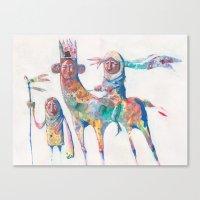 Colour Nomads Canvas Print