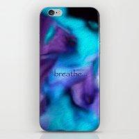 Fluid dreams of fall iPhone & iPod Skin