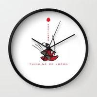 Thinking of Japan Wall Clock
