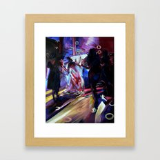 The Bride's Dance. Framed Art Print