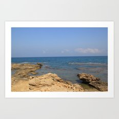 the Mediterranean  Art Print