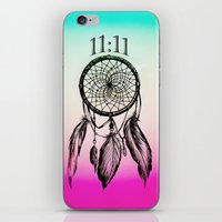 11:11 Eleven Eleven Spiritual Dream Catcher iPhone & iPod Skin
