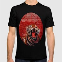 Intense Ferocity Mens Fitted Tee Black SMALL