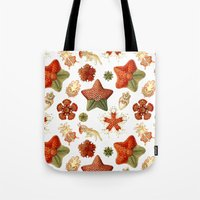 Sea Stars And Star Fish Tote Bag