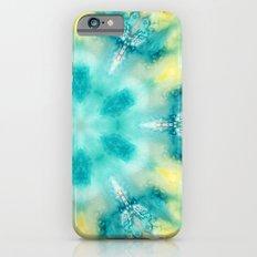 watercolor tie dye iPhone 6 Slim Case
