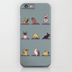Frenchie Yoga iPhone 6 Slim Case
