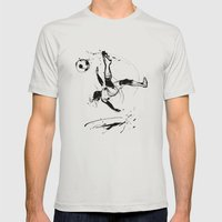 World Cup 2014 Mens Fitted Tee Silver SMALL
