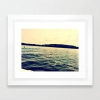 IndianCreek Framed Art Print