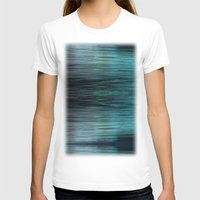 Night Light 138 - Ocean Womens Fitted Tee White SMALL