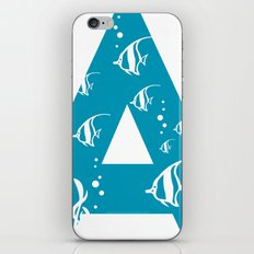 A is for Angelfish - Animal Alphabet Series iPhone & iPod Skin