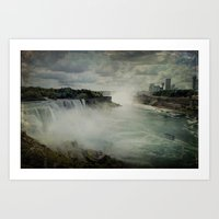 Niagara Falls New York  Art Print