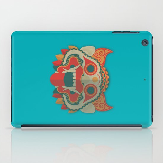 Paper Mask iPad Case